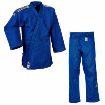 Adidas Champion II. IJF kék Judo gi, arany vállszövéssel.
